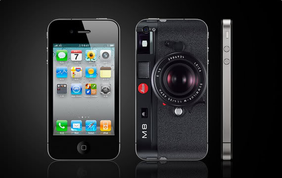 Turning your iPhone into a Leica. (At least on the outside.)