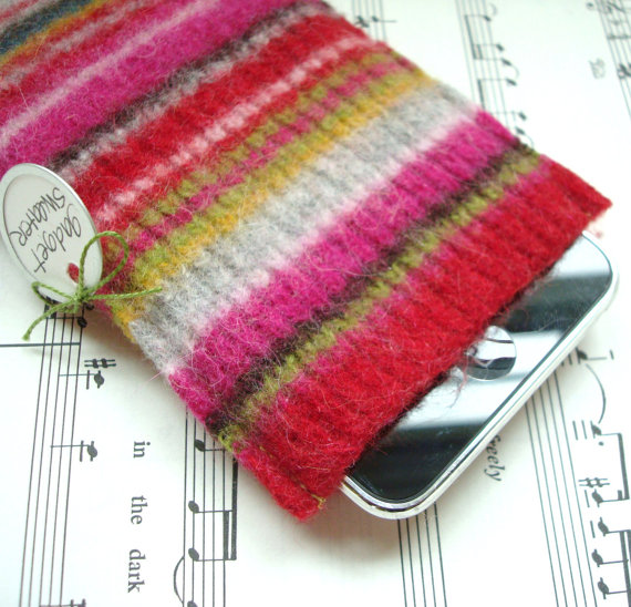 Wrapping your new iPad or Kindle or smart phone in something warm and cozy