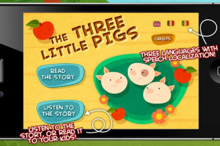 The 3 Little Pigs, only everyone lives.