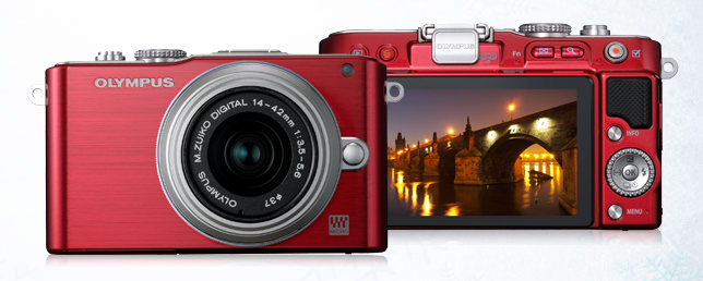 The Olympus PEN E-PL3: A dandy camera when a point-and-shoot just won't cut it.