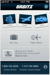 Orbitz, take me away