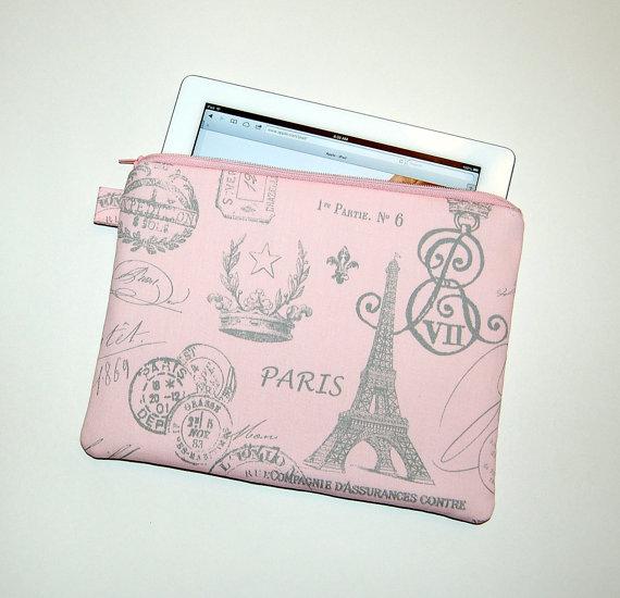An iPad case with a Parisian accent