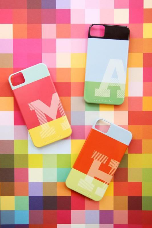 Monogram iPhone cases take a modern turn