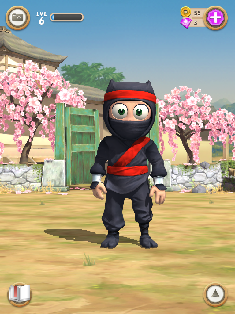 Clumsy Ninja app: An awesome game for kids. Because? Ninjas.