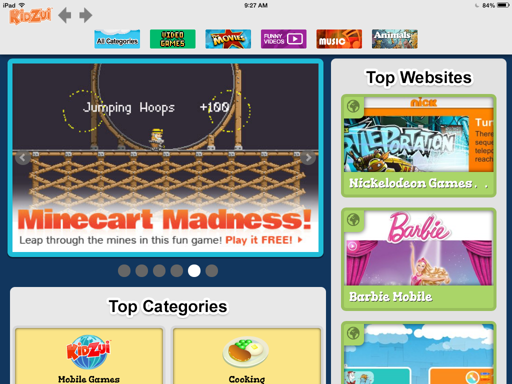 Kidzui: One of our favorite kid-safe browsers is now an app. Yay!