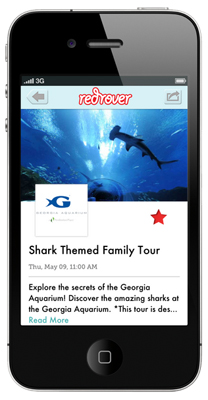 RedRover 3.0: The best way to find stuff to do with your kids. A.K.A. The app every parent has been dreaming of