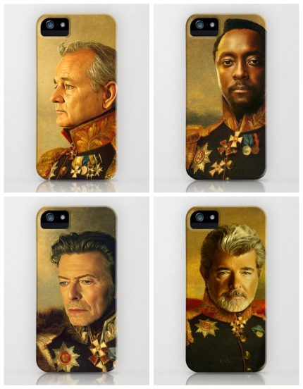Maybe the coolest iPhone and Galaxy cases ever in history. Even if they're rewriting history.