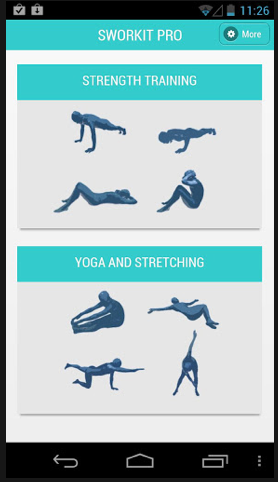 Sworkit: Awesome workouts in an app for under $1