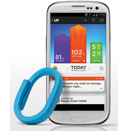 Jawbone UP: Now for Android!