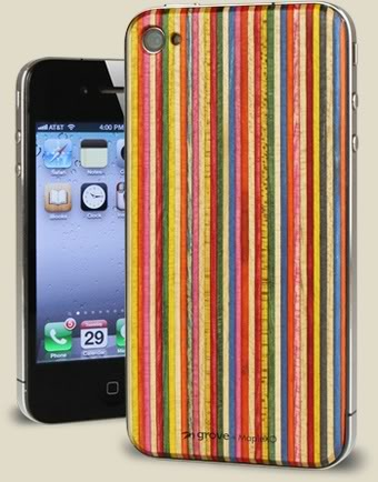 Skateboards get a new life as iPhone accessories. Rad.