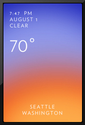Checking the weather on your iPhone just got cooler