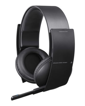 Sony PS3 Wireless Headphones keep the sounds of destruction to a minimum