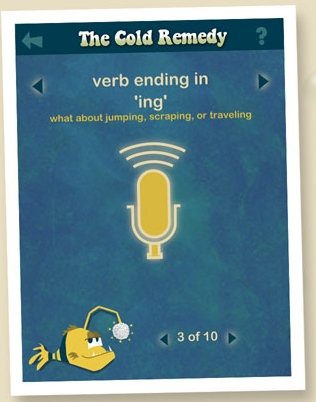 A great app like Mad Libs, hold the pencil