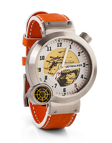 Designer Star Wars Watches: Especially helpful for time travel via hyperdrive malfunction