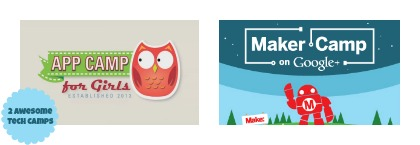 Maker Camp and App Camp for Girls: 2 summer camps to keep kids' minds active. And their fingers busy.