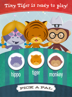 Tiny Tiger and Friends App