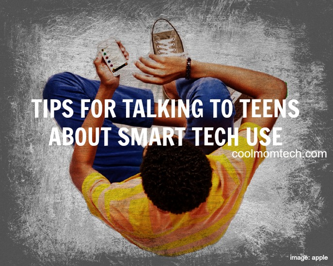 How to talk to teens and tweens about smart tech use and safety