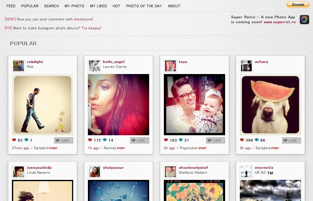 Webstagram makes Instagram users very happy indeed