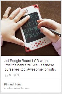 Boogie Board LCD Writer Pin
