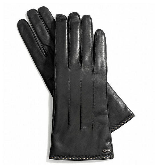 Coach Touch-Screen Leather Gloves | Cool Mom Tech
