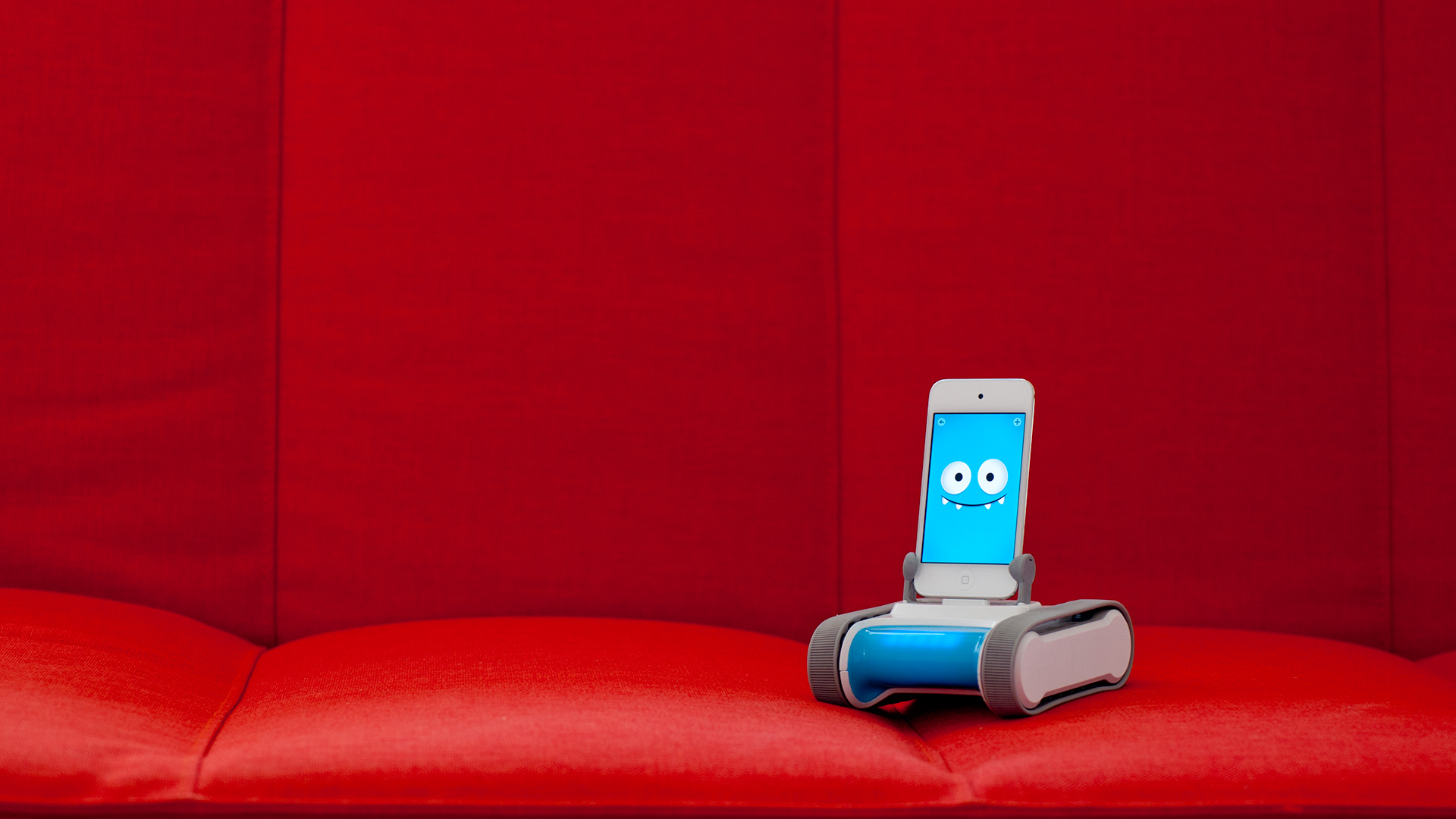 ROMO, the robotic pet, comes in peace. And, unlike a puppy, he won't shed on the furniture