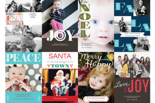 Red Stamp Holiday Cards | Cool Mom Tech