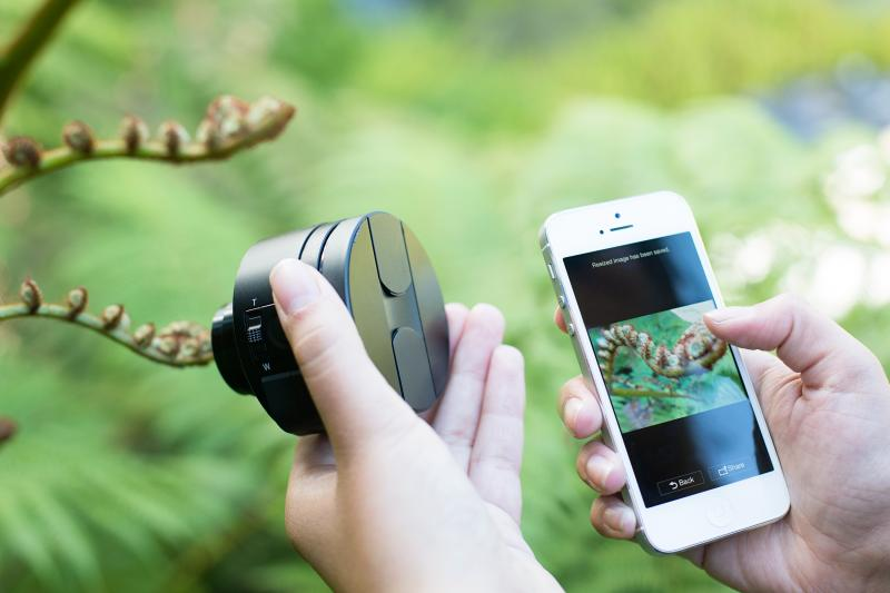 Coolest Photography Gifts - Sony Smart Lens | Cool Mom Tech
