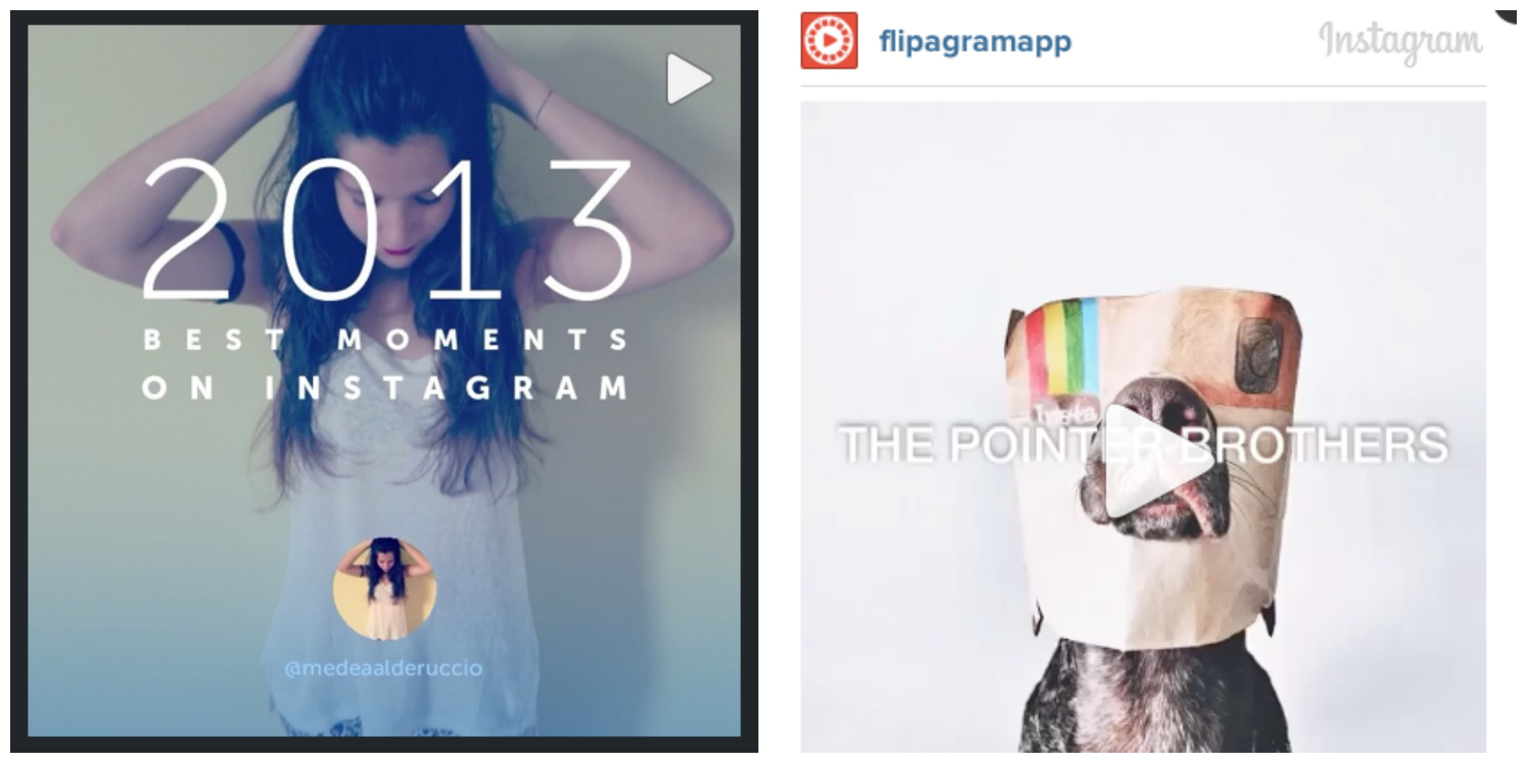 Statigram vs. Flipagram: Which is better for the end-of-the-year photo videos we're seeing all over Instagram?