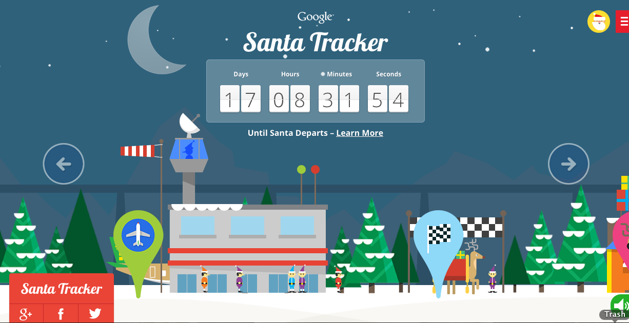 With Google's Santa Tracker, the Christmas countdown is all fun and games.