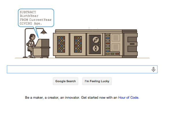 Grace Hopper Google Doodle | Cool Mom Tech