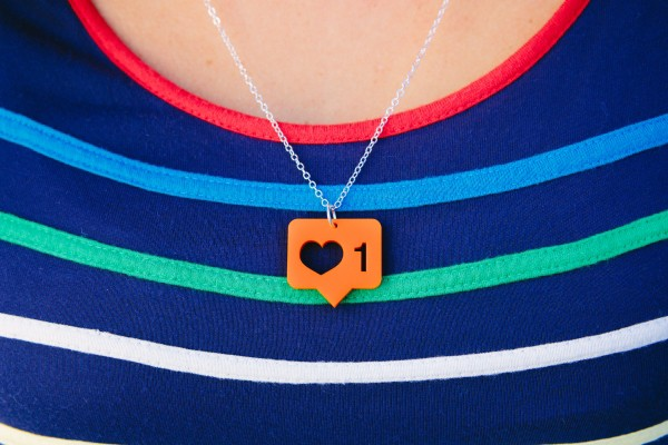 Instagram LIKE Necklace | Cool Mom Tech