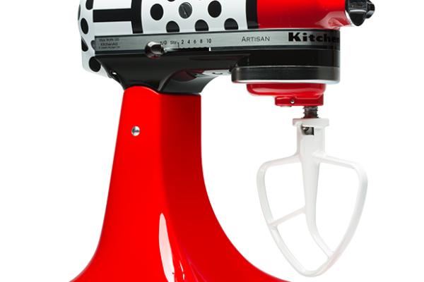 Kitchenaid Limited Edition Polka-dot Mixer | cool mom tech
