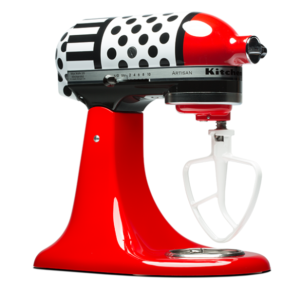Kitchenaid Limited Edition Polka-dot Mixer | cool mom tech