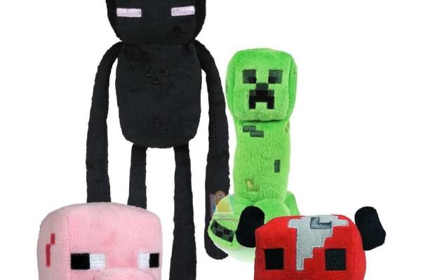 Minecraft plush toys | Cool Mom Tech