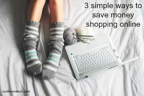 Save money shopping online | cool mom tech
