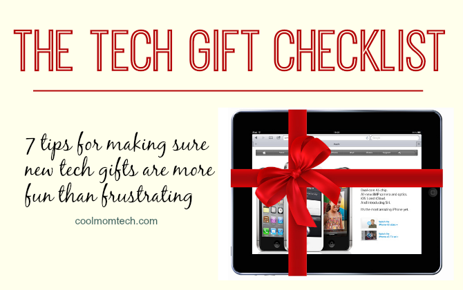 Best tech tips of 2013: Tech gift checklist | Cool Mom Tech