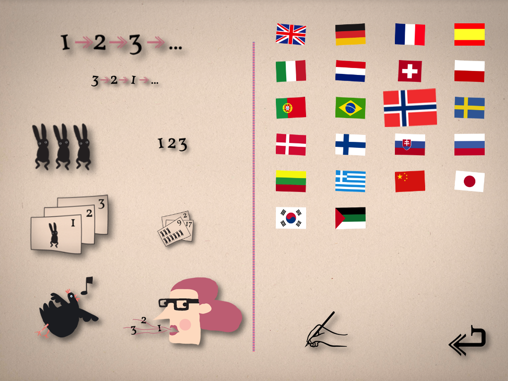 Foreign language apps for kids get as beautiful (and funny) as we've seen with Count the Animals