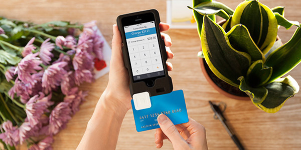 Griffin Square Card Reader Case for iPhone | Cool Mom Tech
