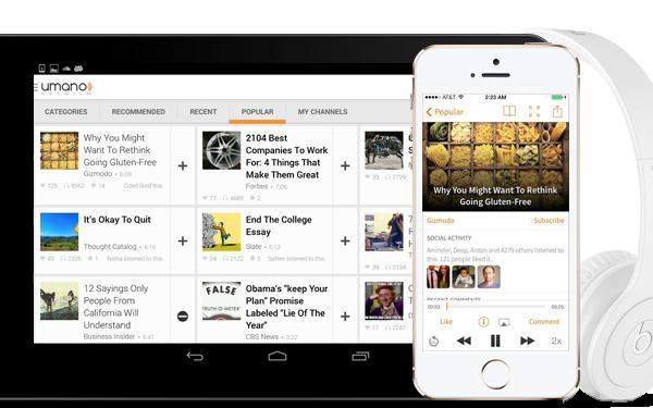 Umano app reads news to you | Cool Mom Tech