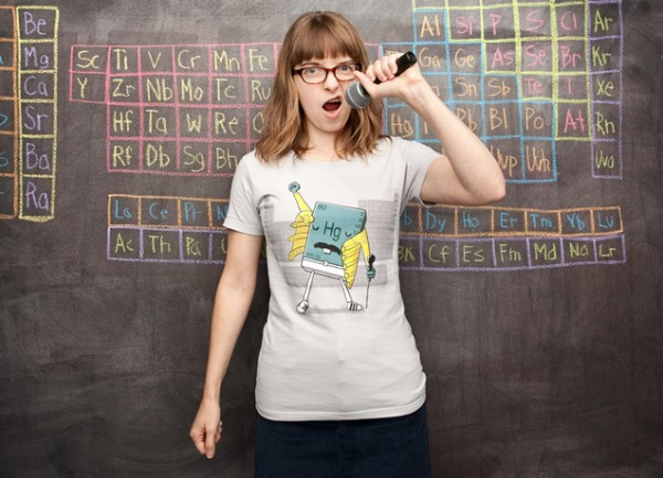 Freddie Mercury chemistry shirt at Threadless | Cool Mom Picks