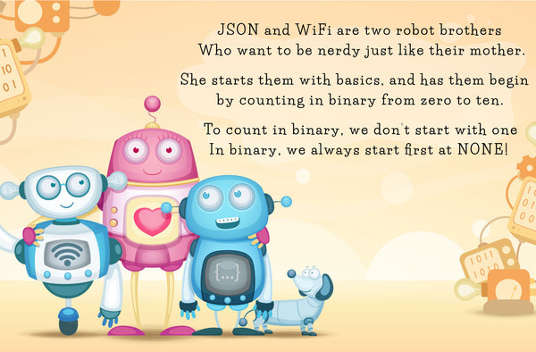 Robot Binary Book | Cool Mom Tech