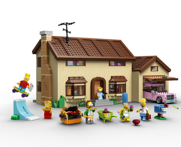 Simpsons LEGO Set | Cool Mom Tech