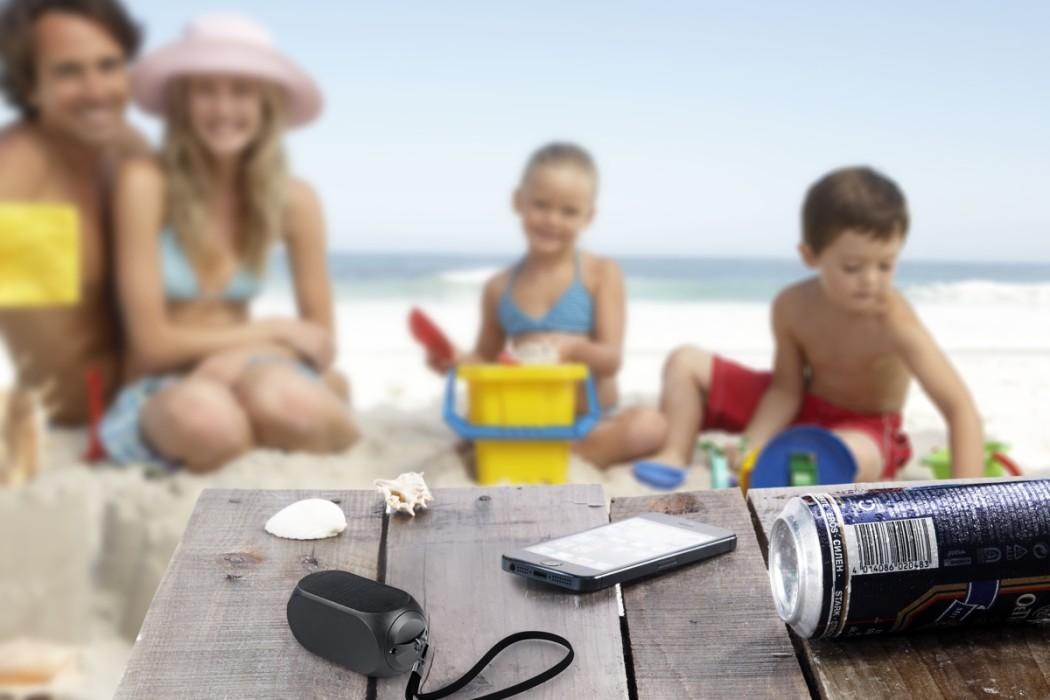 Qube2 wireless portable speaker | Cool Mom Tech