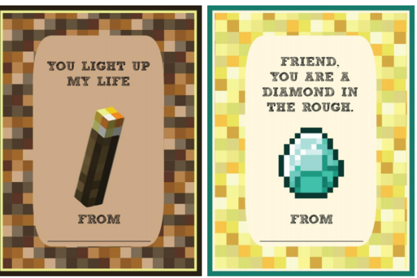 Meet Penny Printable Minecraft Valentines | Cool Mom Tech