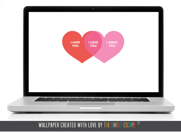 Valentine Desktop Wallpaper from Sweet Escape | Cool Mom Tech