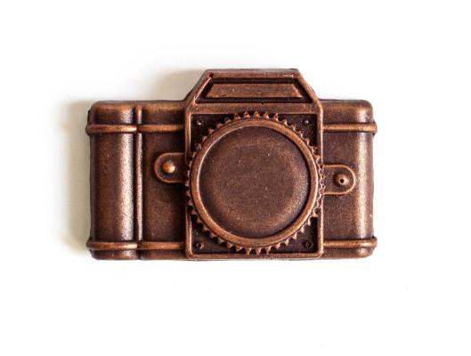 Chocolate vintage camera valentine | Cool Mom Tech