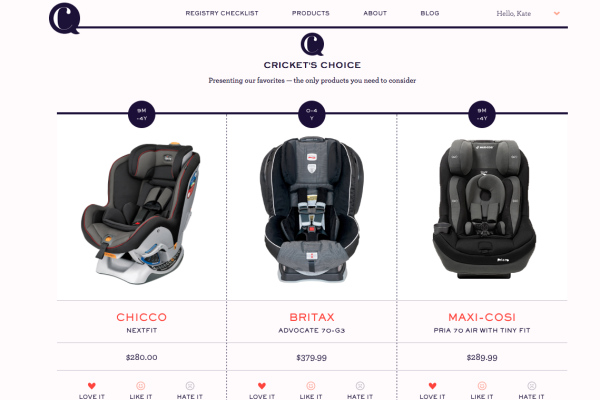 Cricket's Circle baby registry help | Cool Mom Tech