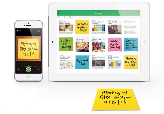 Evernote-enabled Post-it notes | Cool Mom Tech