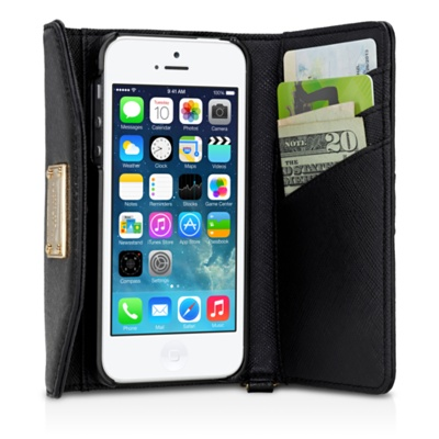 Michael Kors designer iPhone wallet | Cool Mom Tech