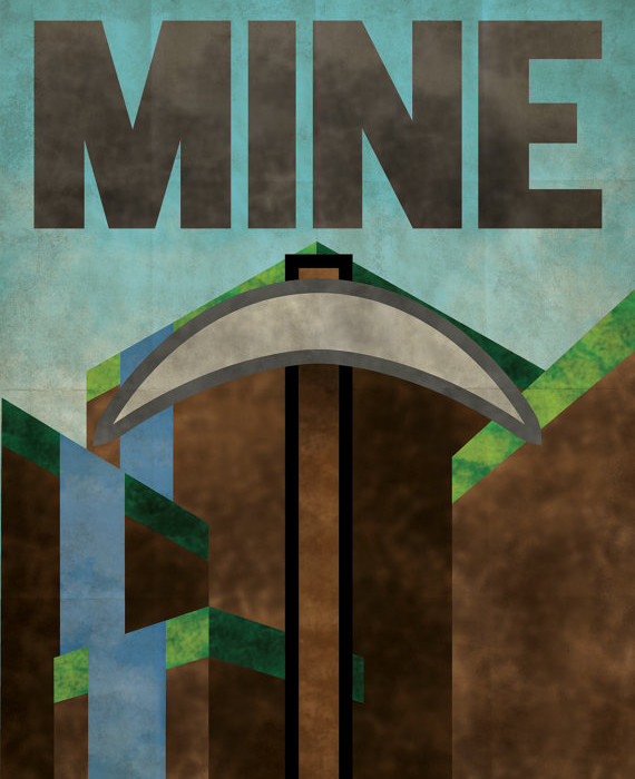 Minecraft propaganda poster | Cool Mom Tech